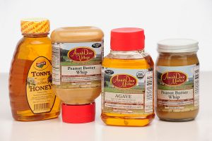 Peanut Butter & Honey Labels