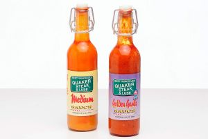 <b>Quaker State & Lube Hot Sauce Labels </b><br/>Hot Sauce Labels