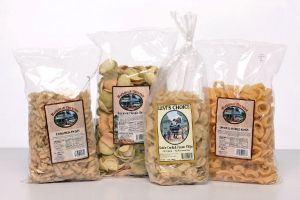 <b>Backroad Country Snacks </b><br/>Custom Potato Chip Labels, Onion Ring Labels, Veggie Chip Labels & Snack Labels